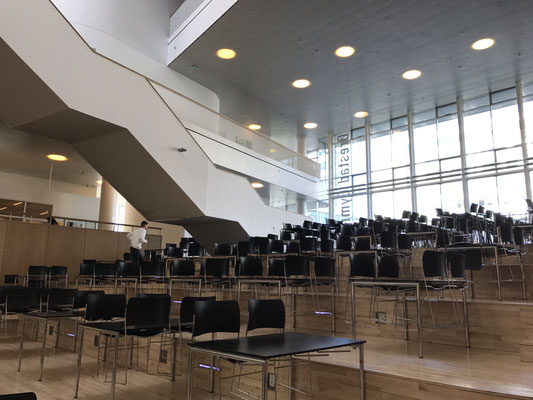 Voyage d'études VUC SYD Haderslev / Visite de l'Orestad Gymnasium à Copenhague / mai 2017 / (c) www.effep.eu