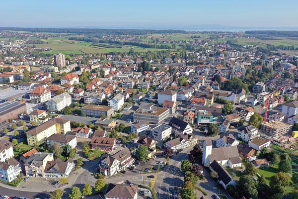 Bilder aus der Luft von Amriswil