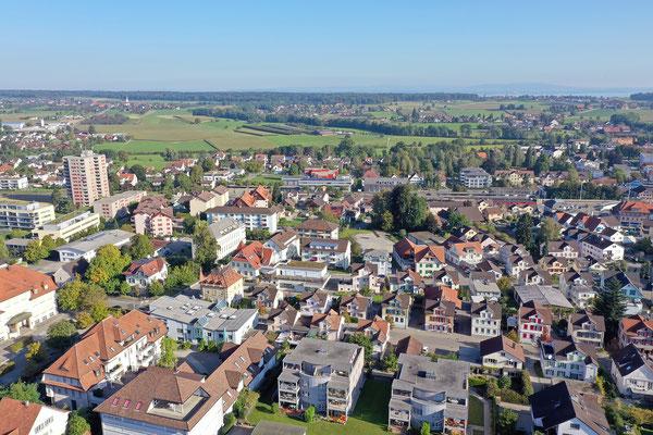Luftaufnahmen, Ostschweiz Amriswil