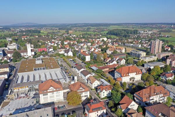 Gebäudeaufnahmen aus der Luft