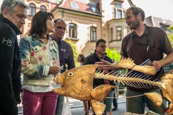 Der Fisch stammt von Hansjörg Stübler Bild: EMQI Living Pics / Markus Gauß