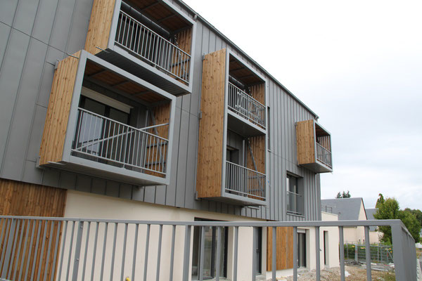 CMC Métallerie Avranches(50)-Combourg Fabrication sur mesures balcons en porte à faux