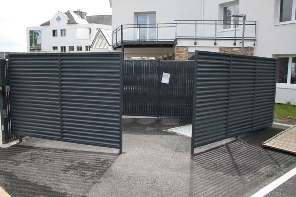 CMC Métallerie Avranches(50)-Parevue en aluminium thermolaqué