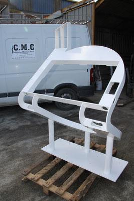 CMC Métallerie Avranches(50)-Mobilier Agencement Structures métalliques pour bornes interactives