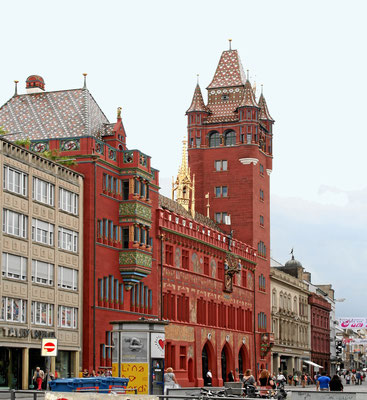 Rotes Rathaus in Basel