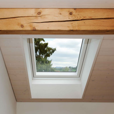 Strebel Holzbau Dachfenster