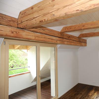 Strebel Holzbau Umbau Riegelhaus