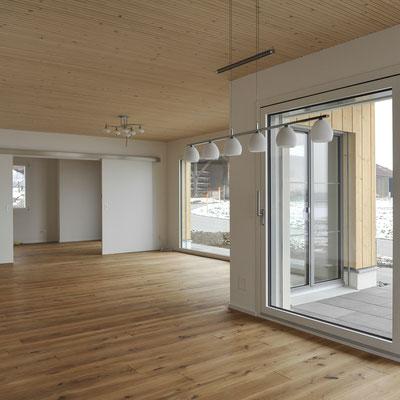 Strebel Holzbau Neubau Zweifamilienhaus