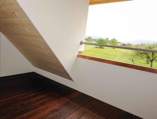 Strebel Holzbau Balkon Holzboden