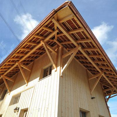 Strebel Holzbau Umbau Scheune