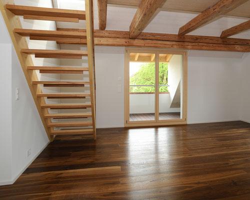 Strebel Holzbau Parkettboden