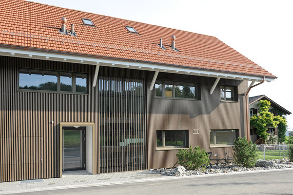 Strebel Holzbau Neubau Mehrfamilienhaus