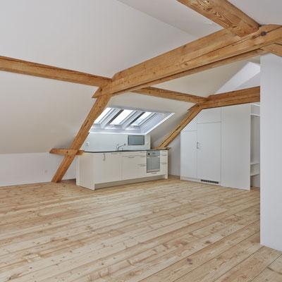 Strebel Holzbau Ausbau Dachstock