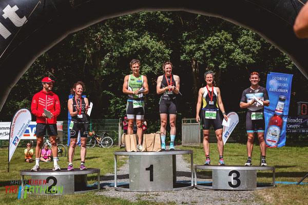 Raiffeisentriathlon Hamm (Sieg), Anna-Lena Theisen, Marc Eggeling, Raùl Valero Gallegos, Nico Steißlinger