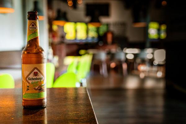 Natur Radler der Hachenburger Brauerei