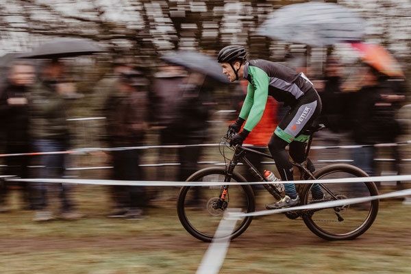 Marcel Mies beim Radcross Nisterberg 2019