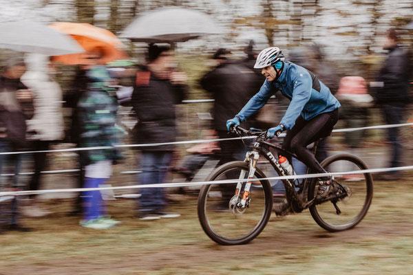 Marc Schneider beim Radcross Nisterberg 2019