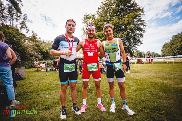 Raiffeisentriathlon Hamm (Sieg), Marc Eggeling, Raùl Valero Gallegos, Nico Steißlinger