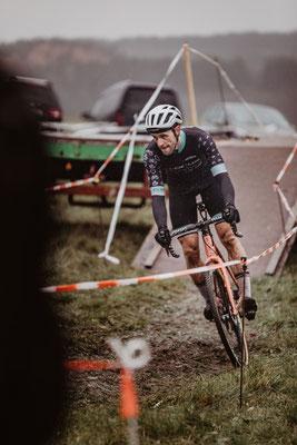Marvin (Marv) Schmidt beim Radcross Nisterberg 2019