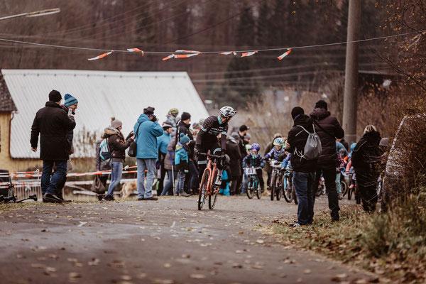Start der Kinder beim Radcross Nisterberg 2019