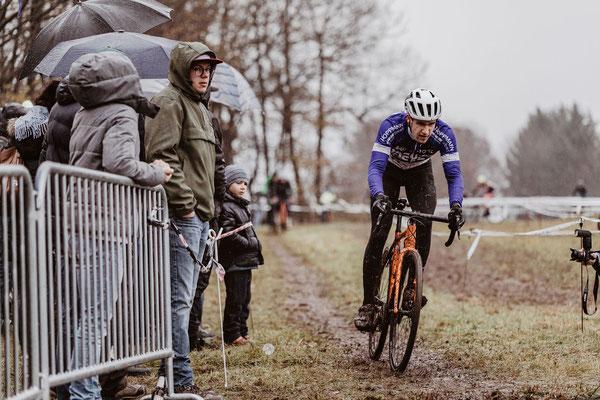 Maurice Bettenhausen beim Radcross Nisterberg 2019