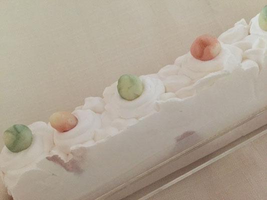 ケーキのようなホイップ石鹸(完成まで2カ月)