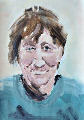 Kathi, Acryl, 40 x 60 cm