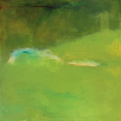 Rückkehr, Acryl, 100 x 100 cm