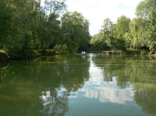 l'étang privé de la maison de l'étang près de verdun