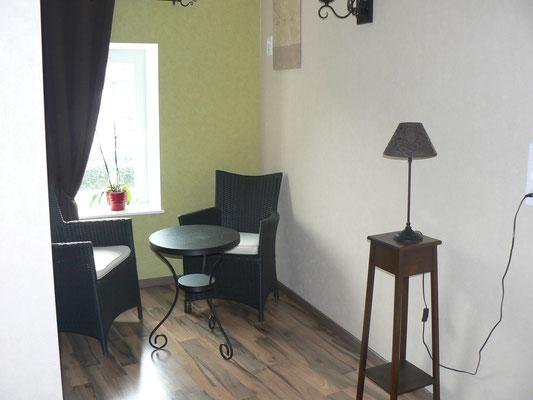 Le petit salon privé de la chambre d'hôtes Elodie en Meuse