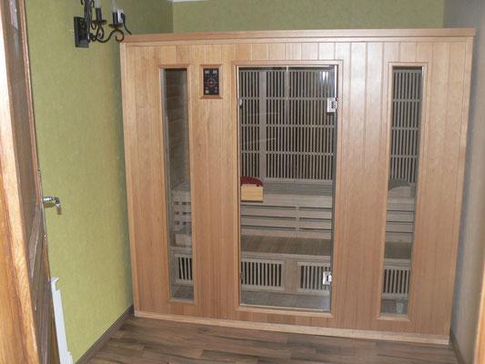 Sauna infrarouge pour votre bien-être