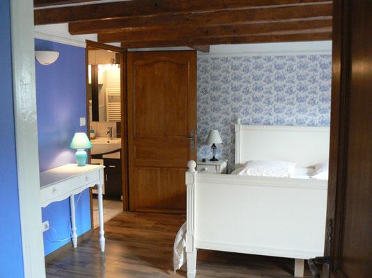 la chambre d'hôtes à la maison de l'étang privé de la propriété