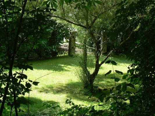 Le parc de la maison de l'étang
