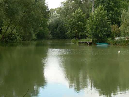 L'étang privé de Sampigny près de Verdun
