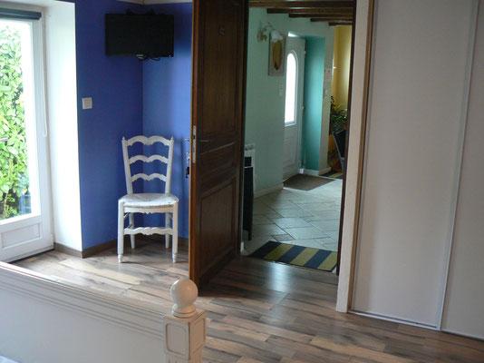 chambres d'hôtes de plain pied donnant sur la pièce de vie