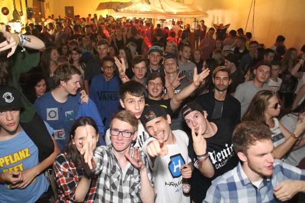 Sieben DJ-Teams sorgten für gefüllte Tanzfläche und groovige Beats und brachten die Location zum vibrieren.