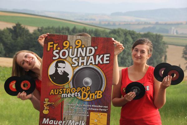 Auf Hits von damals und heute freuen sich Magdalena und Flora beim SoundShake 2016