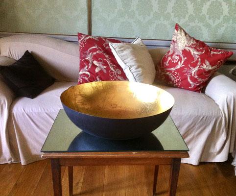 Detailaufnahme des Sofas im französischen Zimmers