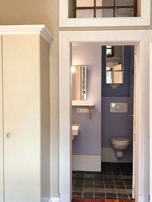 Blick in das en-suite Badezimmer