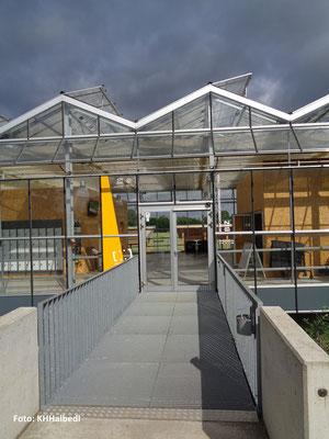 Eingang zum Freilichtlabor Lauresham