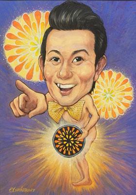 第6位 アキラ100%   by 高橋エツコ  (所属:チームタワーズ)