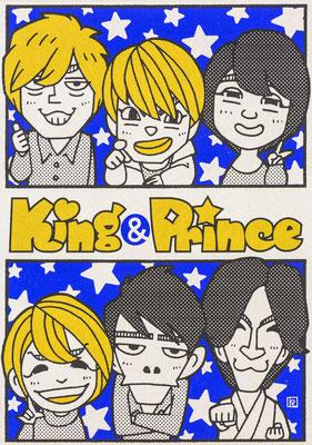 第5位 King&Prince by ちばけいすけ(所属:チームタワーズ)