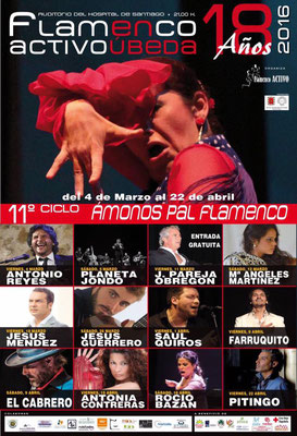"XI Ciclo ""Ámonos pal Flamenco"", Úbeda"
