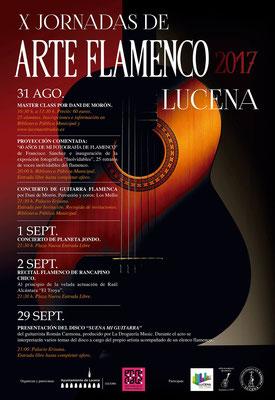 X Jornadas de Arte Flamenco, Lucena