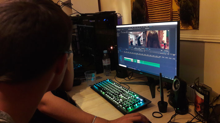 "Post-Production ""Ne M'abandonne Pas"" (court métrage)"