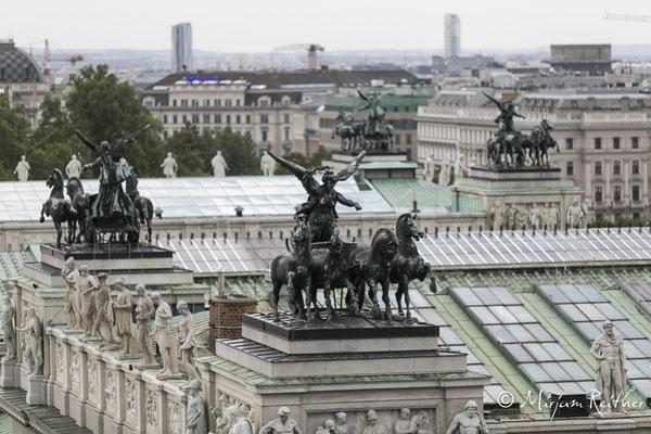Detailansicht Dach Parlament