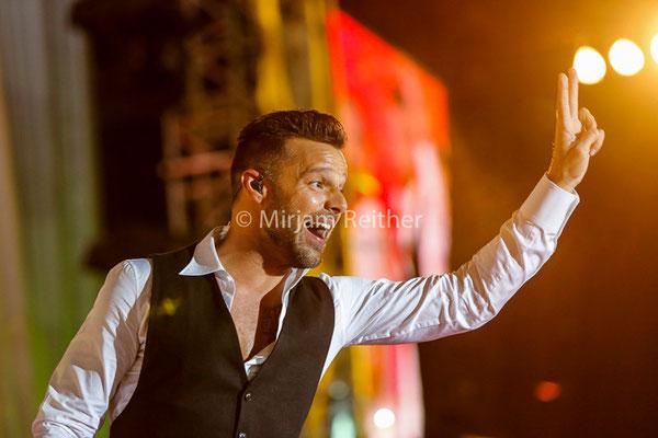 Ricky Martin, Wien 2014