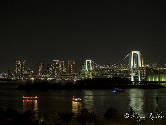 Rainbowbridge von Odaiba aus gesehen, Tokio, Japan