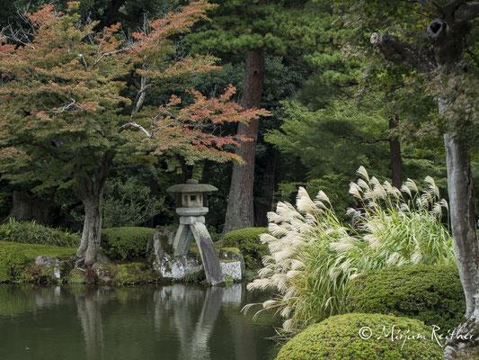Kenrokuen Garten in Kanazawa, Japan