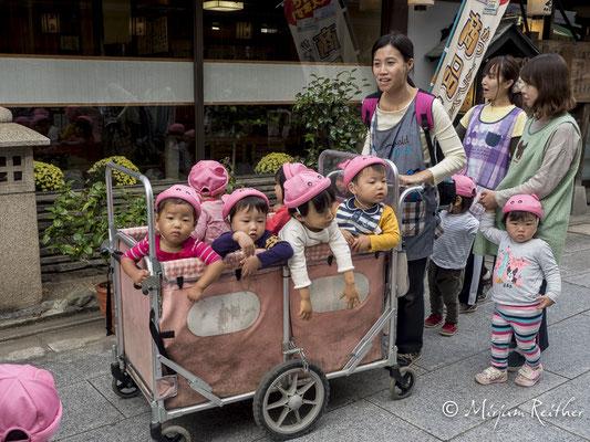 Kindergartenausflug auf japanisch